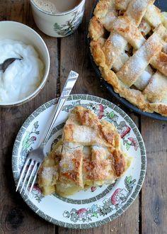 Lattice Apple Pie by Karen Burns-Booth