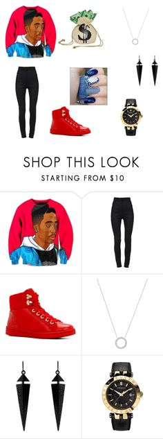"""""""Betcha can't swag like me"""" by scorpio-queen ❤ liked on Polyvore featuring Dolce&Gabbana, ALDO, Michael Kors, Oasis, Versace and Buy Seasons"""