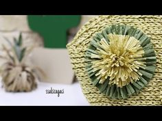 Diy Crafts Hacks, Diy And Crafts, Diy Projects, Loom Flowers, Purse Patterns, Flower Making, Bag Making, Purses And Bags, Knit Crochet