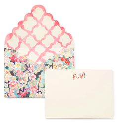 Happy Menocal for Moda Operandi - Katie Considers Monogram Stationary, Stationary Design, Personalized Stationery, Bullet Journal Notebook, Wedding Invitation Design, Wedding Paper, Love Letters, Paper Goods, Crafty