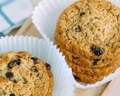 Cookies diététiques aux raisins secs et graines de chia