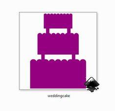 Koti Beth: Free Wedding Cake SVG Die Cut File