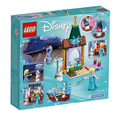 Join much-loved characters Elsa and Olaf on LEGO Disney Elsa's Market Adventure! Lego Disney Princess, Lego Princesse Disney, Lego Friends, Legos, Toy Story Figures, Cute Spring Nails, Freddy 's, Disney Ornaments, All Lego