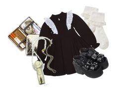 """""""#45"""" by amerisal ❤ liked on Polyvore featuring John Lewis, Eclectic Shock and UNIF"""