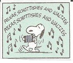 Snoopy accordion