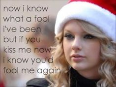 Taylor Swift - Last Christmas - Lyrics this song is me and my biffles Christmas song we jump around and do the dance  and sing to it