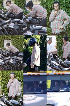 Harry is getting a bike