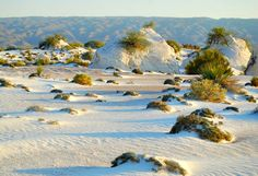 Visita las Dunas de Yeso. #EspirituAventurero Blue Lagoon, Places, Outdoor, Watercolor, Sun, World, Snow, Scenery, Deserts