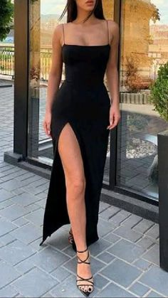 Straps Prom Dresses, Pretty Prom Dresses, Sexy Dresses, Black Prom Dresses, Prom Dresses Long Open Back, Wedding Dresses, Black Fancy Dress, Long Party Dresses, Dress Long