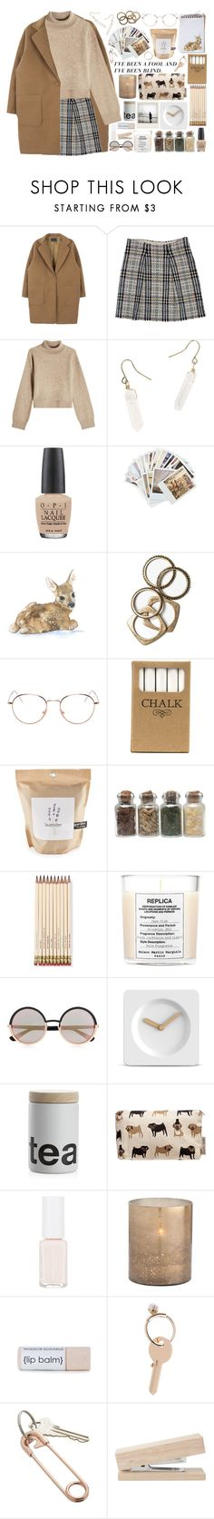 """It's always darkest before the dawn"" by hannah-gw-martin ❤ liked on Polyvore featuring Burberry, Rejina Pyo, Hot Topic, OPI, Chronicle Books, Rachel Leigh, RetroSuperFuture, Jayson Home, Potting Shed Creations and Kate Spade"