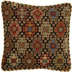My interestest include cross stitch, art, fashion, nature, and folklore Needlepoint Pillows, Needlepoint Patterns, Embroidery Patterns, Cross Stitch Designs, Cross Stitch Patterns, Cushion Cover Pattern, Cross Stitch Cushion, Boho Cushions, Palestinian Embroidery