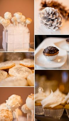 winter baby shower ideas | White, Silver and Gold Winter Baby Shower | Britt Babyshower Ideas