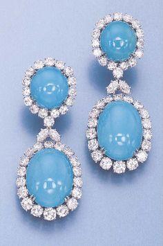 Rosamaria G Frangini Emerald Jewelry, Turquoise Jewelry, Harry Winston, Royal Diamond, Pierre Turquoise, Fantasy Jewelry, Luxury Jewelry, Antique Jewelry, Fine Jewelry