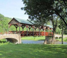 Telliquah covered bridge - TN