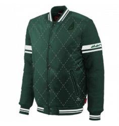 69449606600de Wholesale Soothing Green Varsity Jacket Manufacturer   Suppliers