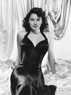 """Everybody kisses everybody else in this crummy business all the time. It's the kissiest business in the world"" ~Ava Gardner"