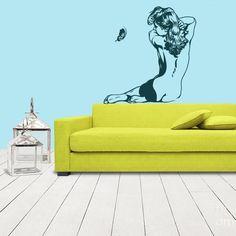 Wall Vinyl Sticker Decals Decor Art Bedroom Design Mural Naked Girl Sexy Back (Z1059) StickersForLife http://www.amazon.com/dp/B00DRB1OGI/ref=cm_sw_r_pi_dp_9hPevb19CBDAJ