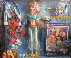 Barbie MY SCENE Masquerade Madness DELANCY DREAM GENIE Doll (JEANNIE) w Movie DVD, Extra Clothes & MORE! (2004)