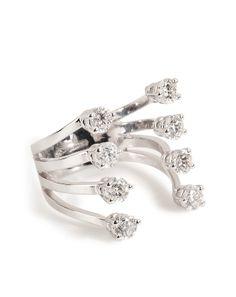 Shop now: Delfina Delettrez ring with diamonds