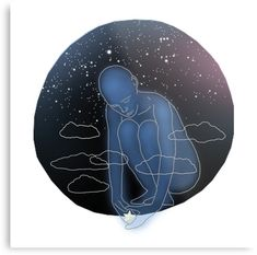 The Sirians are tall blue beings from the Star Sirius. Sirius is the brightest star in the Earth& night sky. Sirian Starseed, Bright Stars, Night Skies, Wall Prints, Creative Design, Riding Helmets, Art Print, Metal, Illustration
