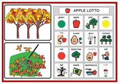 Fall speech therapy ideas/activities