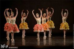 Waltz of the Flowers in Act 2 of San Francisco Ballet's Nutcracker. Photo by Erik Tomasson