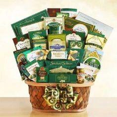 Gourmet Extravaganza Gift Basket Elegant Overflowing Sweet Treat Best Office Kid