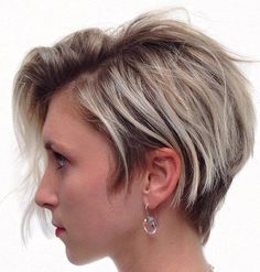 Side-Swept Pixie Bob