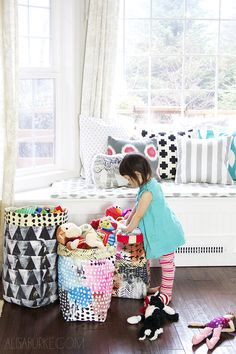 Once upon a time our house was clean and organized...and then we had a kid! Now that Lucy is a toddler, it feels like there is stuff ev...