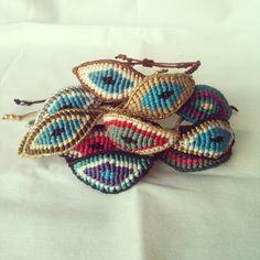 ♥Evil eye bracelets♥