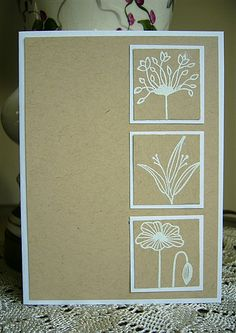 CAS Florals by allamericanstampers - Cards and Paper Crafts at Splitcoaststampers