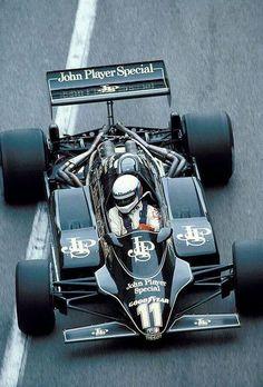 "frenchcurious: "" Elio de Angelis (JPS Lotus-Ford 91) Grand Prix de Monaco 1982 - Grand Prix - Fascination Formula 1. """