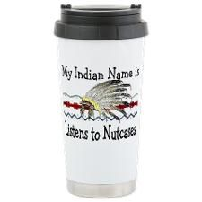 Stainless Steel Travel Mug Indian Names, Psych Nurse, Nurse Stuff, Stainless Steel Travel Mug, Mugs, Tableware, Dinnerware, Tumblers, Dishes