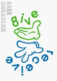 Marcel Häusler Grafik » »Geben ist seliger denn Nehmen« Graphic Design Festival Breda