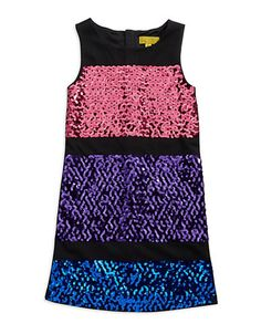 Brands | Girls 7-16 | Girls 7-16 Sequined Dress | Lord and Taylor