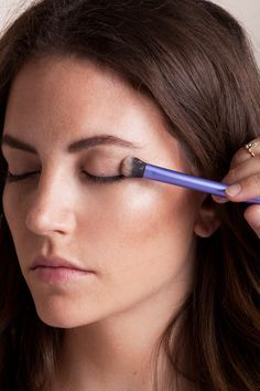 EASY QUICK way to contour your eyes…