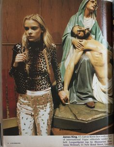 """jamesking90smodel: """"James King 'New York Dolls' - i-D Magazine; September 1996 """""""