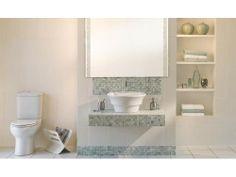 Almond Origami Suite Decor, Tiles, Floor And Wall Tile, Bathroom, Toilet, Bathtub
