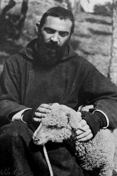 A young Padre Pio.