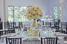 Mod White Wedding Reception. Rentals- Design Works. Location- Lionscrest Manor Photo- Broxton Art. www.lionscrestmanor.com