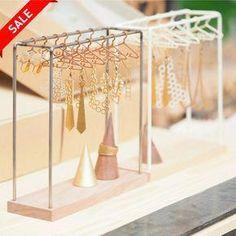 Amazing SALE- hanger - iron walnut type - Women's Jewelry and Accessories-Women Fashion Jewellery Storage, Jewelry Organization, Jewellery Display, Diy Jewelry Holder, Jewelry Stand, Necklace Holder, Diy Earring Holder, Jewelry Case, Women's Jewelry