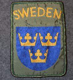 Swedish international operations, shoulder-sleeve patch.