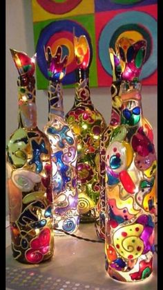 Glas-en loodverf crea winkel en action