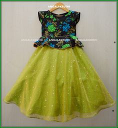 Kids frock designs by Angalakruthi