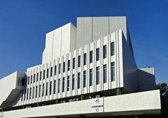 Remarkable Modern Architecture by Alvar Aalto, Finlandia Hall, Helsinki