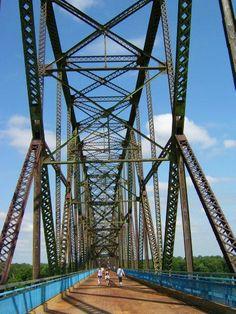 Granite City, IL - Chain of Rocks Bridge Vertical