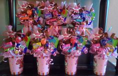 Kitty Kids Candy Party Favors by LynnsCandyCreations on Etsy **Really cute party favor idea, going to use Bubble Guppies cups instead of Hello Kitty Birthday Favors, 1st Birthday Parties, Birthday Ideas, Candy Party Favors, Party Gifts, Lalaloopsy, Bubble Guppies Birthday, Tangled Party, Hello Kitty Birthday
