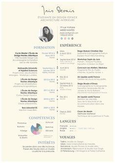 Curriculum Vitae. on Behance