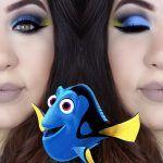 Tutorial - maquiagem artística inspirada na Dory / Dory Makeup Tutorial » Pausa para Feminices