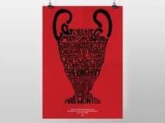 1999 Champions League Final - Manchester United vs Bayern Munich (A3 POSTER PRINT) by HannahCarrollDesign on Etsy https://www.etsy.com/uk/listing/236861557/1999-champions-league-final-manchester